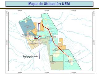 Mapa de Ubicación UEM