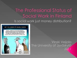 The Professional Status of Social Work in Finland