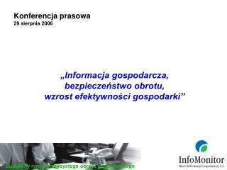 Konferencja prasowa 29 sierpnia 2006