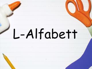 L-Alfabett