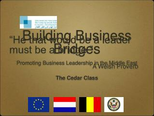 Building Business Bridges