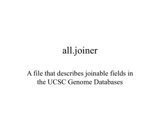 all.joiner