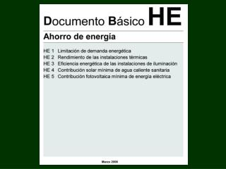 HE: AHORRO DE ENERGIA.