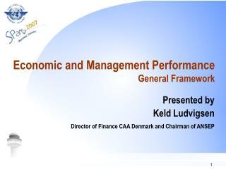 Economic and Management Performance General Framework