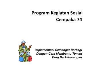 Program  Kegiatan Sosial