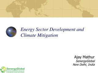 Energy Sector Development and Climate Mitigation