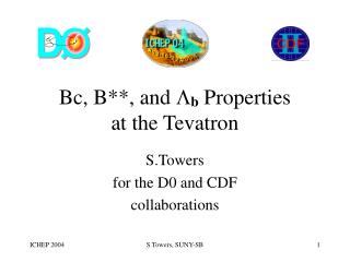 Bc, B**, and  L b  Properties  at the Tevatron