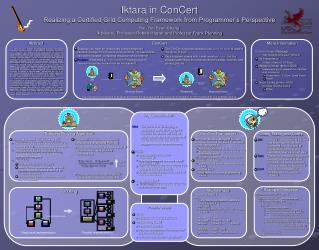 Iktara in ConCert Realizing a Certified Grid Computing Framework from Programmer's Perspective