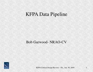 KFPA Data Pipeline