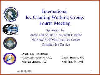 International Ice Charting Working Group: Fourth Meeting