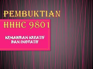 PEMBUKTIAN  HHHC 9801