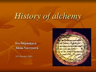 History of alchemy