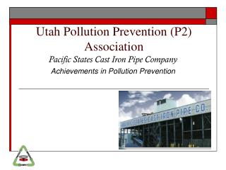 Utah Pollution Prevention (P2)  Association