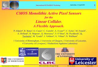 CMOS Monolithic Active Pixel Sensors for the Linear Collider. A Flexible Approach.