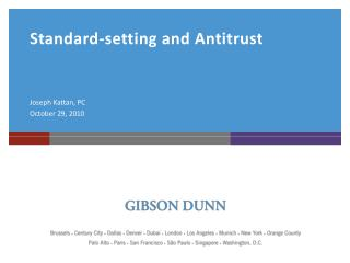 Standard-setting and Antitrust