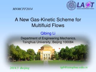 A New Gas-Kinetic Scheme for Multifluid Flows