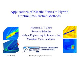 Applications of Kinetic Fluxes to Hybrid Continuum-Rarefied Methods