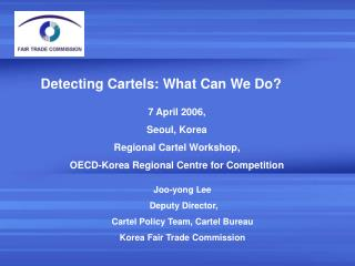 Detecting Cartels: What Can We Do?