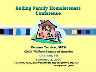 Ending Family Homelessness Conference