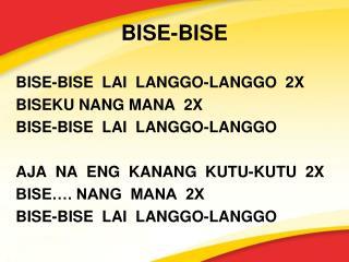BISE-BISE