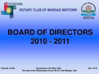 ROTARY CLUB OF MARGAO MIDTOWN
