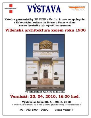 Katedra germanistiky FF UJEP v Ústí n. L. zve ve spolupráci