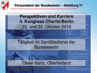 Personalamt der Bundeswehr – Abteilung IV