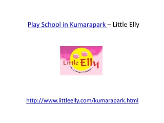 Preschool in Kumarapark
