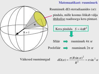 Matemaatikast: ruuminurk