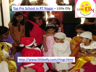 Top Play Schools in RT Nagar