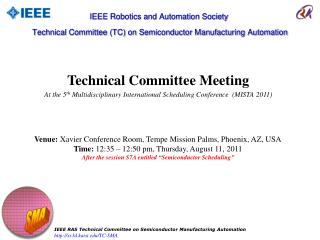Technical Committee Meeting