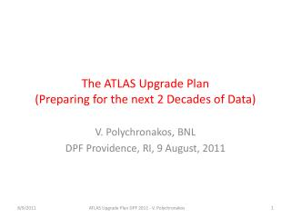 The ATLAS Upgrade Plan (Preparing for the next 2 Decades of Data)