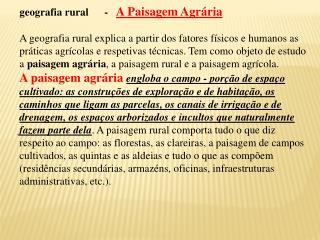 DIVIS O DO TERRIT RIO EM REGI ES AGR RIAS - NATURAIS