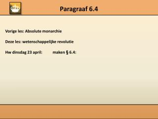 Paragraaf 6.4