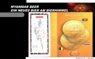 MYANMAR BEER  EIN NEUES BIER AM BIERHIMMEL