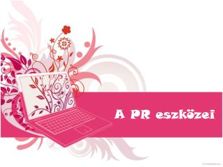 A PR eszközei