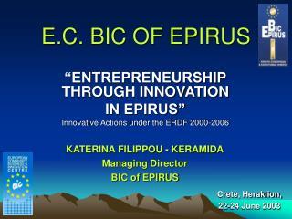 E.C. BIC OF EPIRUS