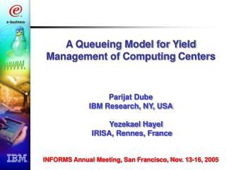 On Demand computing services