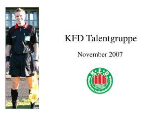 KFD Talentgruppe