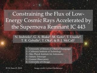 Constraining the Flux of Low-Energy Cosmic Rays Accelerated by the Supernova Remnant IC 443