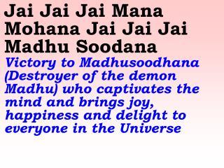 Old 621_New 730 Jai Jai Jai Mana Mohana