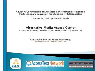 The Alternative Media Access Center