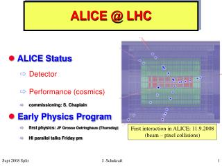 ALICE @ LHC