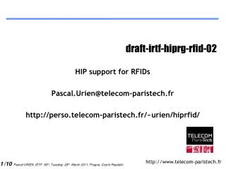 draft-irtf-hiprg-rfid-02