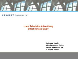 Local Television Advertising Effectiveness Study