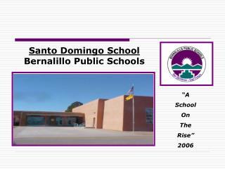Santo Domingo School Bernalillo Public Schools