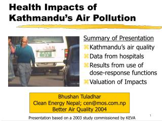 Health Impacts of Kathmandu's Air Pollution