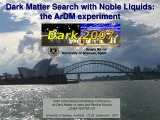Dark Matter Search with Noble Liquids: the ArDM experiment