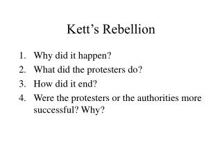 Kett's Rebellion