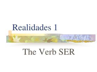 Realidades 1